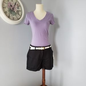*NWT* Black Apt.9 Shorts, Sz 6